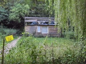 Kein Baumhaus, aber dennoch eine neue Hütte
