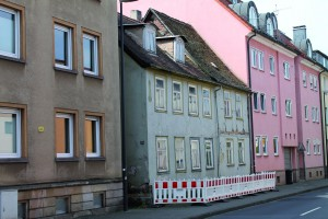 Gebäude in der Langebrückenstraße