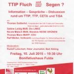 TTIP - CETA - TPP - TISA