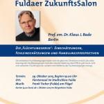 Weltkrise im Fuldaer Zukunftssalon